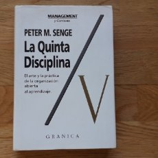 Livres d'occasion: LA QUINTA DISCIPLINA , PETER M. SENGE ,. Lote 178154008