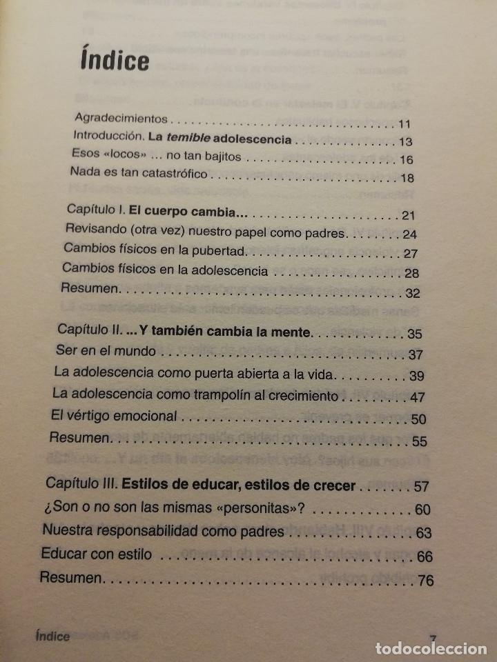 Libros de segunda mano: S.O.S. ADOLESCENTES (ANA ISABEL SAZ - MARÍN) AGUILAR - Foto 3 - 178780100