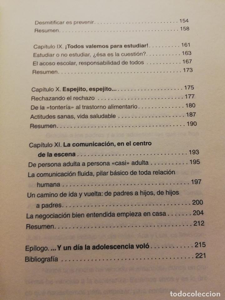 Libros de segunda mano: S.O.S. ADOLESCENTES (ANA ISABEL SAZ - MARÍN) AGUILAR - Foto 5 - 178780100
