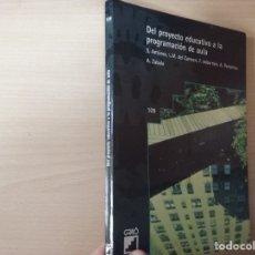 Libros de segunda mano: DEL PROYECTO EDUCATIVO A LA PROGRAMACIÓN DE AULA - S. ANTÚNEZ - L. M. DEL CARMEN - ANTONI ZABALA. Lote 179062582