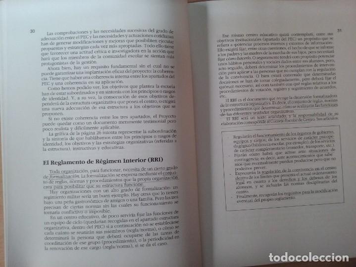 Libros de segunda mano: DEL PROYECTO EDUCATIVO A LA PROGRAMACIÓN DE AULA - S. ANTÚNEZ - L. M. DEL CARMEN - ANTONI ZABALA - Foto 7 - 179062582