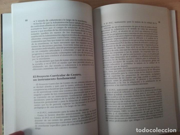 Libros de segunda mano: DEL PROYECTO EDUCATIVO A LA PROGRAMACIÓN DE AULA - S. ANTÚNEZ - L. M. DEL CARMEN - ANTONI ZABALA - Foto 11 - 179062582