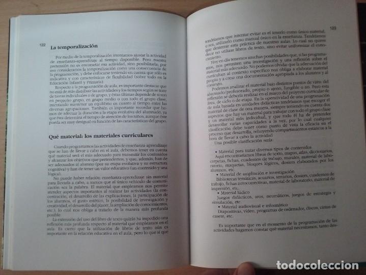 Libros de segunda mano: DEL PROYECTO EDUCATIVO A LA PROGRAMACIÓN DE AULA - S. ANTÚNEZ - L. M. DEL CARMEN - ANTONI ZABALA - Foto 12 - 179062582