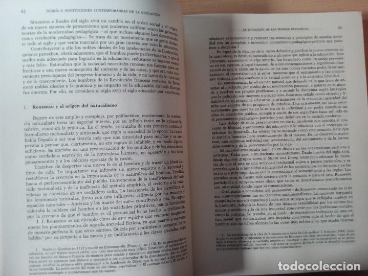 Libros de segunda mano: TEORIAS E INSTITUCIONES CONTEMPORANEAS - ANTONI J. COLOM - JOSÉ L. BERNABEU - EMILIA DOMÍNGEZ - Foto 8 - 179079703