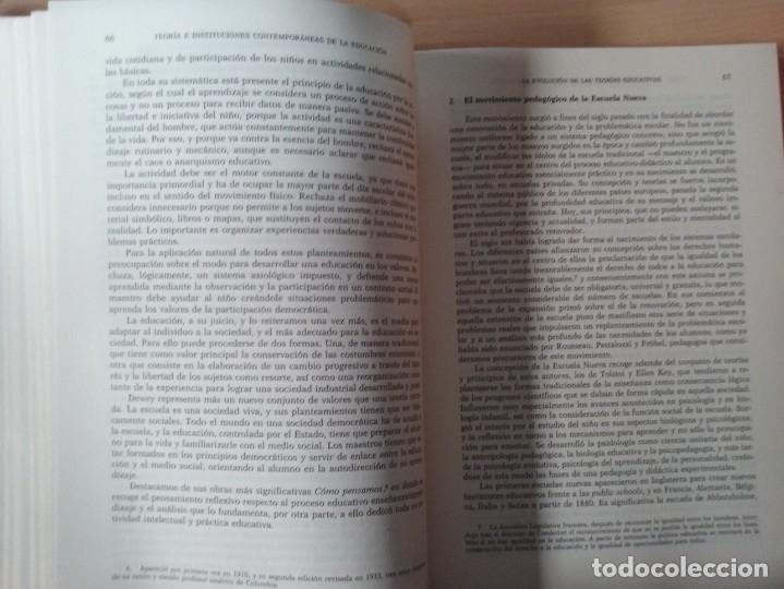 Libros de segunda mano: TEORIAS E INSTITUCIONES CONTEMPORANEAS - ANTONI J. COLOM - JOSÉ L. BERNABEU - EMILIA DOMÍNGEZ - Foto 9 - 179079703