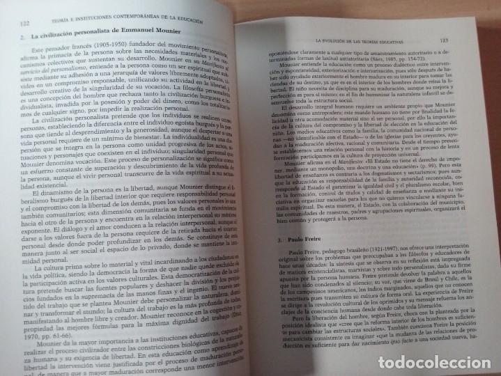 Libros de segunda mano: TEORIAS E INSTITUCIONES CONTEMPORANEAS - ANTONI J. COLOM - JOSÉ L. BERNABEU - EMILIA DOMÍNGEZ - Foto 11 - 179079703