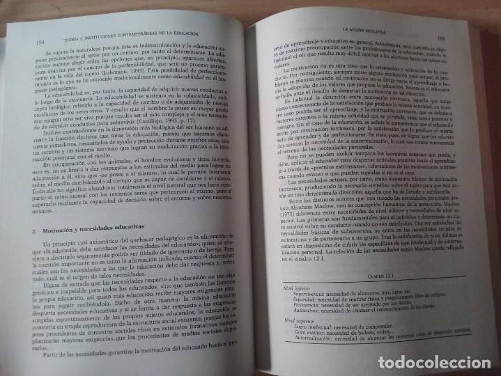 Libros de segunda mano: TEORIAS E INSTITUCIONES CONTEMPORANEAS - ANTONI J. COLOM - JOSÉ L. BERNABEU - EMILIA DOMÍNGEZ - Foto 12 - 179079703