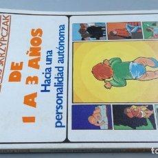 Libros de segunda mano: ASI SE HACE EL HOMBRE . 1 A 3 AÑOS - HACIA UNA PERSONALIDAD AUTONOMA - JEAN FRANCOIS SKRZYOCZAK. Lote 180045040