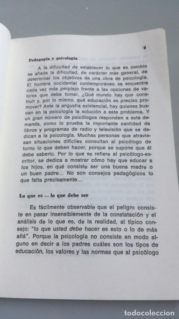 Libros de segunda mano: ASI SE HACE EL HOMBRE . 1 A 3 AÑOS - HACIA UNA PERSONALIDAD AUTONOMA - JEAN FRANCOIS SKRZYOCZAK - Foto 11 - 180045040
