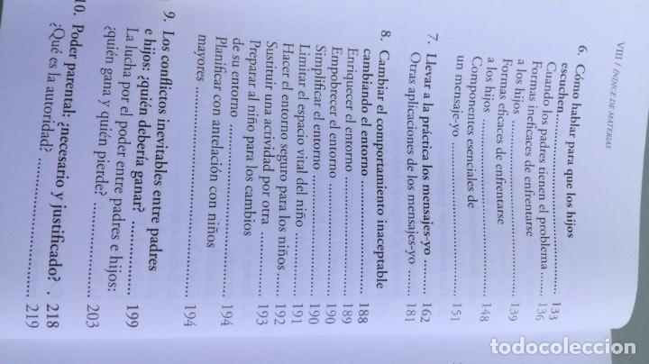 Libros de segunda mano: TEP TECNICAS EFICACES PARA PADRES - THOMAS GORDON - EFICAZ FORMAR NIÑOS RESPONSABLES - Foto 8 - 210699074
