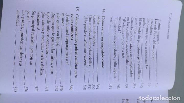 Libros de segunda mano: TEP TECNICAS EFICACES PARA PADRES - THOMAS GORDON - EFICAZ FORMAR NIÑOS RESPONSABLES - Foto 10 - 210699074