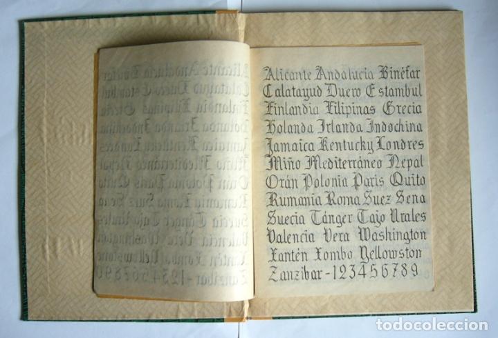 Libros de segunda mano: LIBRO Y CUADERNO DE PRACTICAS DE LA ACADEMIA MERCANTIL ANUNCIATA - AÑOS 50 - Foto 2 - 180431888