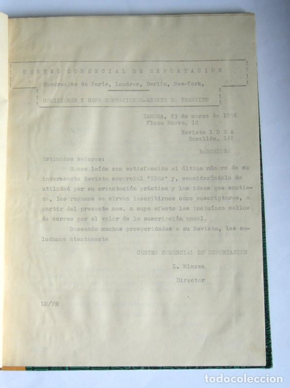 Libros de segunda mano: LIBRO Y CUADERNO DE PRACTICAS DE LA ACADEMIA MERCANTIL ANUNCIATA - AÑOS 50 - Foto 5 - 180431888