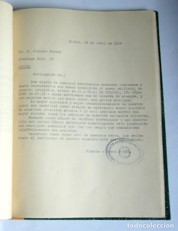 Libros de segunda mano: LIBRO Y CUADERNO DE PRACTICAS DE LA ACADEMIA MERCANTIL ANUNCIATA - AÑOS 50 - Foto 6 - 180431888