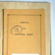 Libros de segunda mano: LIBRO Y CUADERNO DE PRACTICAS DE LA ACADEMIA MERCANTIL ANUNCIATA - AÑOS 50. Lote 180431888