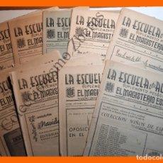 Libros de segunda mano: LA ESCUELA EN ACCION, SUPLEMENTO PEDAGÓGICO DE EL MAGISTERIO ESPAÑOL - CURSO 1953-1954. Lote 180500412