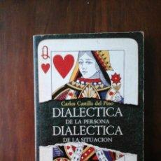 Libros de segunda mano: DIALÉCTICA DE LA PERSONA, DIALÉCTICA DE LA SITUACIÓN.. Lote 181869157