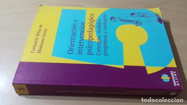 ORIENTACION E INTERVENCION PSICOPEDAGOGICA - CONSUELO VELAZ - CONCEPTO MODELOS PROGRAMAS EVALUACION(Libros de Segunda Mano - Ciencias, Manuales y Oficios - Pedagogía)