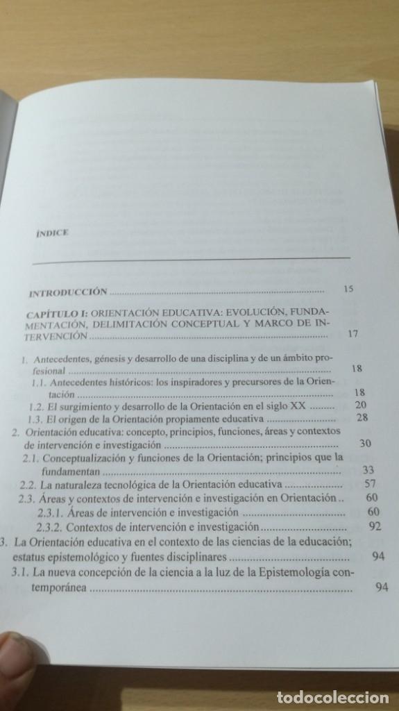 Libros de segunda mano: ORIENTACION E INTERVENCION PSICOPEDAGOGICA - CONSUELO VELAZ - CONCEPTO MODELOS PROGRAMAS EVALUACION - Foto 6 - 182088720