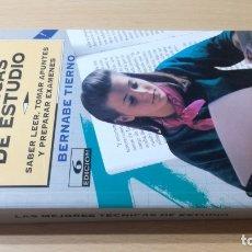 Libros de segunda mano: LAS MEJORES TECNICAS DE ESTUDIO - LEER - TOMAR APUNTES - PREPARAR EXAMEN/ B703. Lote 182089307