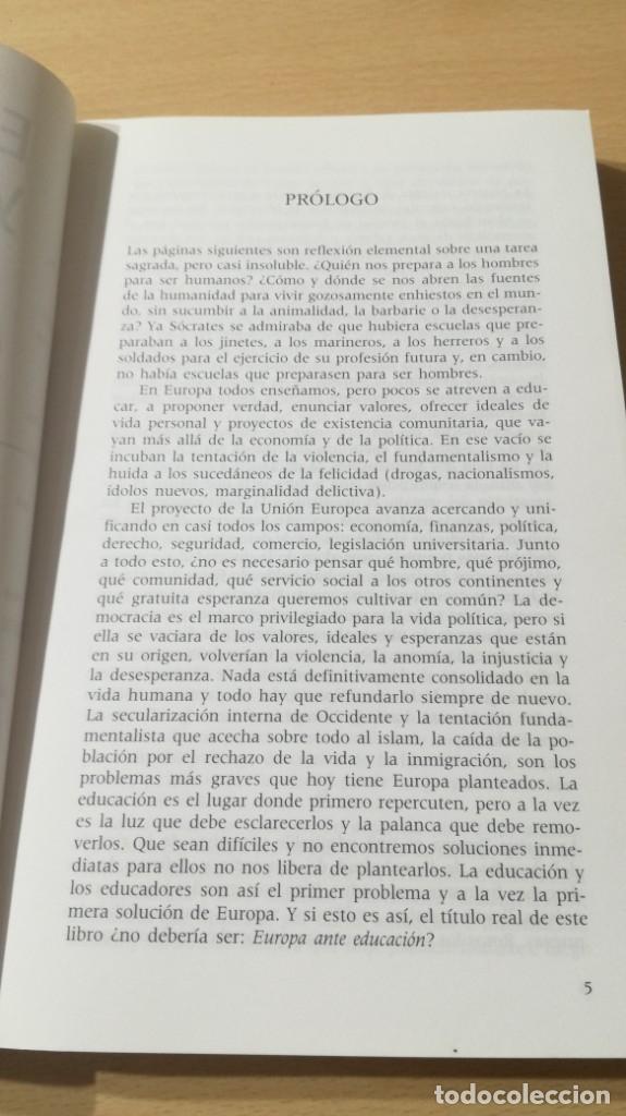 Libros de segunda mano: EDUCACION Y EDUCADORES - O GONZALEZ DE CARDEDAL - PRIMER PROBLEMA MORAL EUROPA/ B703 - Foto 7 - 182089982