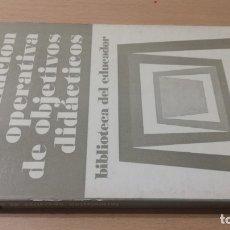 Livros em segunda mão: FORMULACION OPERATIVA DE OBJETIVOS DIDACTICOS - ROBERT E MAGUER - MAROVA/ E501. Lote 182092145