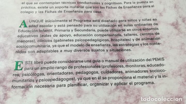 Libros de segunda mano: PROGRAMA DE ENSEÑANZA DE HABILIDADES DE INTEGRACION SOCIAL PEHIS - INES MONJAS CASARES / LL304 - Foto 5 - 197516370