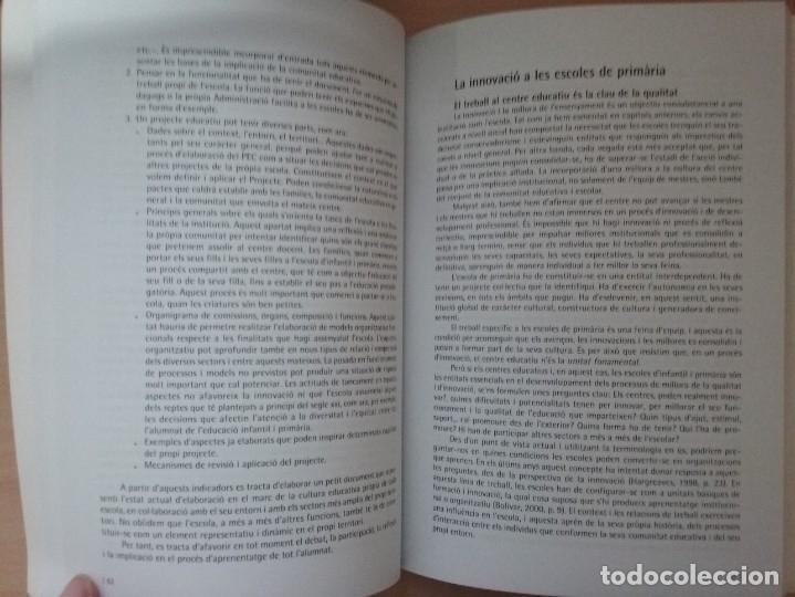 Libros de segunda mano: LEDUCACIÓ PRIMARIA: REPTES, DILEMES I PROPOSTES - JOAN DOMÈNECH - SUSANNA ARÀNEGA - Foto 8 - 182912401