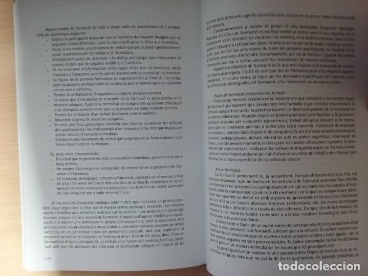 Libros de segunda mano: LEDUCACIÓ PRIMARIA: REPTES, DILEMES I PROPOSTES - JOAN DOMÈNECH - SUSANNA ARÀNEGA - Foto 9 - 182912401