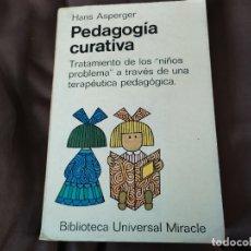 Libros de segunda mano: PEDAGOGÍA CURATIVA. TRATAMIENTO DE LOS NIÑOS PROBLEMA A TRAVÉS DE UNA TERAPÉUTICA PEDAGÓGICA.. Lote 182961716