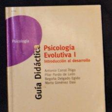 Libros de segunda mano: PSICOLOGÍA EVOLUTIVA I. INTRODUCCIÓN AL DESARROLLO UNED. Lote 183179580