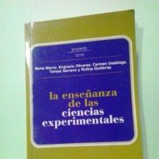 Libros de segunda mano: LMV - LA ENSEÑANZA DE LAS CIENCIAS EXPERIMENTALES, ETAPA 12 A 16 AÑOS. VARIOS AUTORES. Lote 183274788