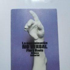 Libros de segunda mano: LA COMUNICACION NO VERBAL.-FLORA DAVIS. Lote 183442807