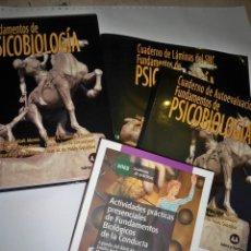 Libros de segunda mano: FUNDAMENTOS DE PSICOBIOLOGÍA UNED. Lote 111289931