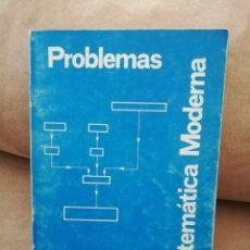 Libros de segunda mano: EUGENIO JORDÁ - PROBLEMAS DE MATEMÁTICA MODERNA - 1973. Lote 186286222