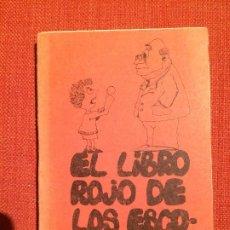 Libros de segunda mano: EL LIBRO ROJO DE LOS ESCOLARES. Lote 189502826