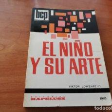 Libros de segunda mano: MAGNÍFICO TOMO EL NIÑO Y SU ARTE VIKTOR LOWENFELD ED. KAPELUSZ 1973. Lote 190013905