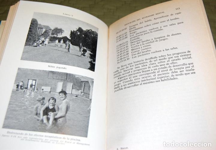 Libros de segunda mano: Asistencia y educación del subnormal, de Charles H. Hallas. - Foto 15 - 191152618