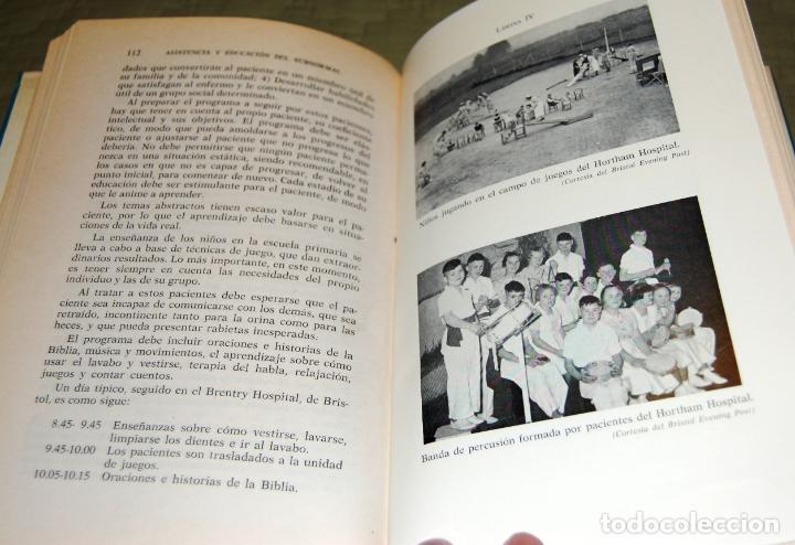 Libros de segunda mano: Asistencia y educación del subnormal, de Charles H. Hallas. - Foto 16 - 191152618