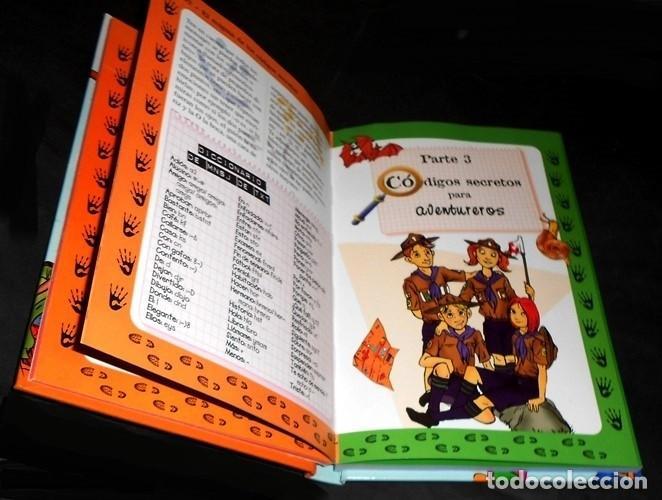 Libros de segunda mano: EL ENIGMA DE LOS CODIGOS SECRETOS. DETECTIVES. ESPIAS. AVENTUREROS. INCLUYE EJERCICIOS Y SOLUCIONES. - Foto 2 - 191289437
