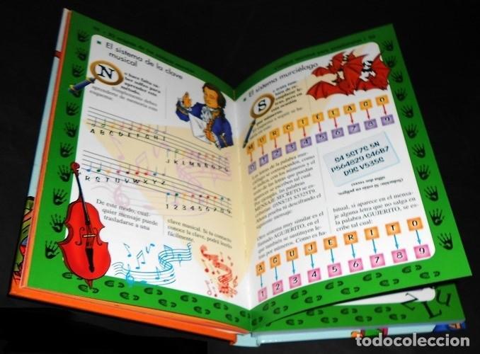 Libros de segunda mano: EL ENIGMA DE LOS CODIGOS SECRETOS. DETECTIVES. ESPIAS. AVENTUREROS. INCLUYE EJERCICIOS Y SOLUCIONES. - Foto 3 - 191289437