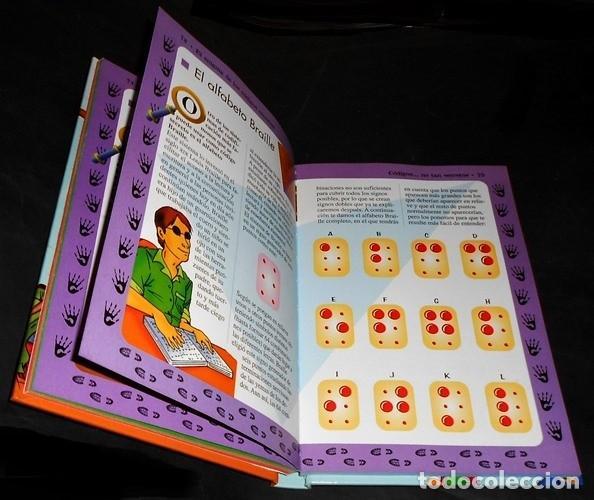 Libros de segunda mano: EL ENIGMA DE LOS CODIGOS SECRETOS. DETECTIVES. ESPIAS. AVENTUREROS. INCLUYE EJERCICIOS Y SOLUCIONES. - Foto 5 - 191289437