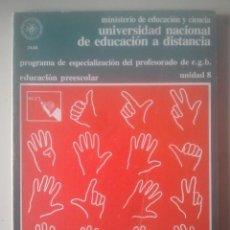 Libros de segunda mano: CONDUCTA SOCIAL DEL PREESCOLAR - ESPECIALIZACIÓN PROFESORADO E.G.B. - UNED, 1980 - UNIDAD 8. Lote 191857568