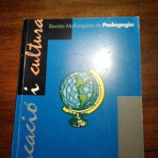 Libros de segunda mano: EDUCACIÓ I CULTURA, REVISTA MALLORQUINA DE PEDAGOGIA. UIB 14. Lote 193337510