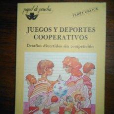 Libros de segunda mano: JUEGOS Y DEPORTES COOPERATIVOS. DESAFIOS DIVERTIDOS SIN COMPETICION. TERRY ORLICK. Lote 193339430