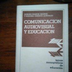 Libros de segunda mano: COMUNICACIÓN AUDIOVISUAL Y EDUCACIÓN, ANAYA. Lote 193339531