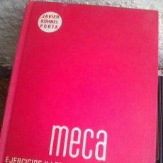 Livres d'occasion: KÜHNEL PORTA, JAVIER - MECA . EJERCICIOS Y LECCIONES DE MECANOGRAFIA (EDICIONES DIDACTICAS, 1977). Lote 193583306