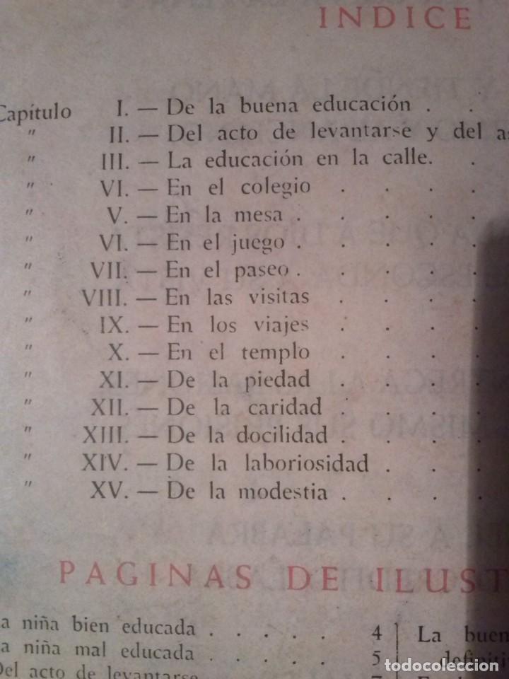 Libros de segunda mano: CARTILLA MODERNA DE URBANIDAD, para niños. Edi. Luis Vives SA 1949 - Foto 2 - 193745435