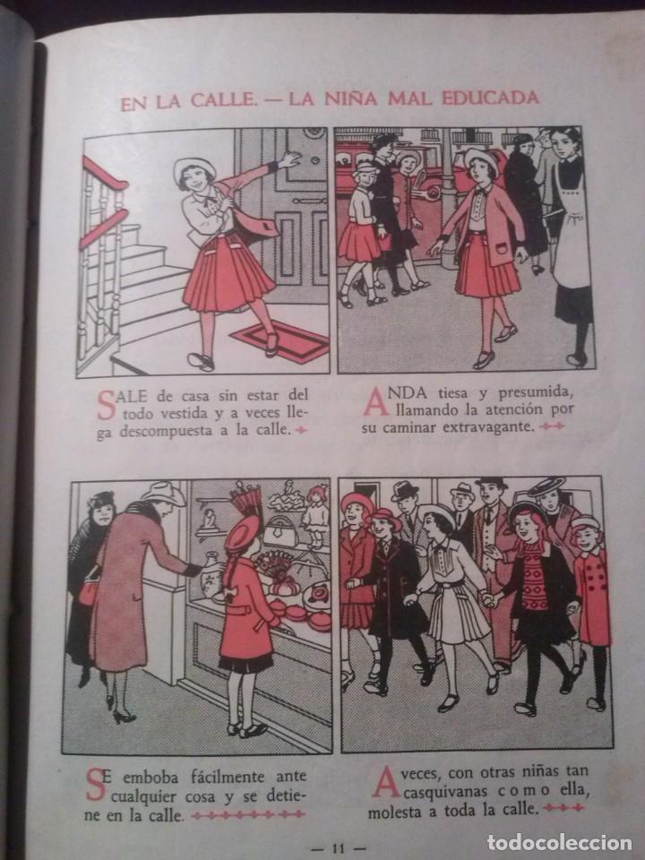 Libros de segunda mano: CARTILLA MODERNA DE URBANIDAD, para niños. Edi. Luis Vives SA 1949 - Foto 3 - 193745435