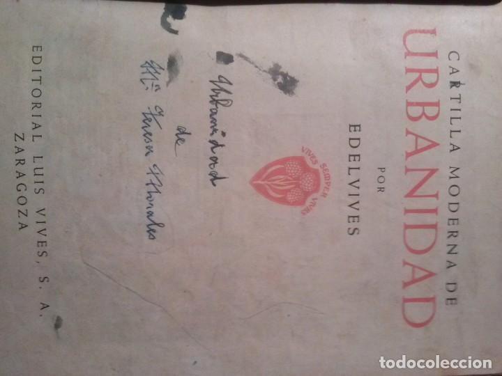 Libros de segunda mano: CARTILLA MODERNA DE URBANIDAD, para niños. Edi. Luis Vives SA 1949 - Foto 4 - 193745435